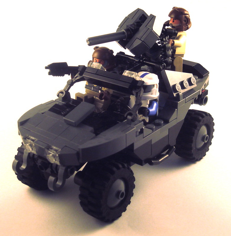 Reach Warthog Machine Gun Variant