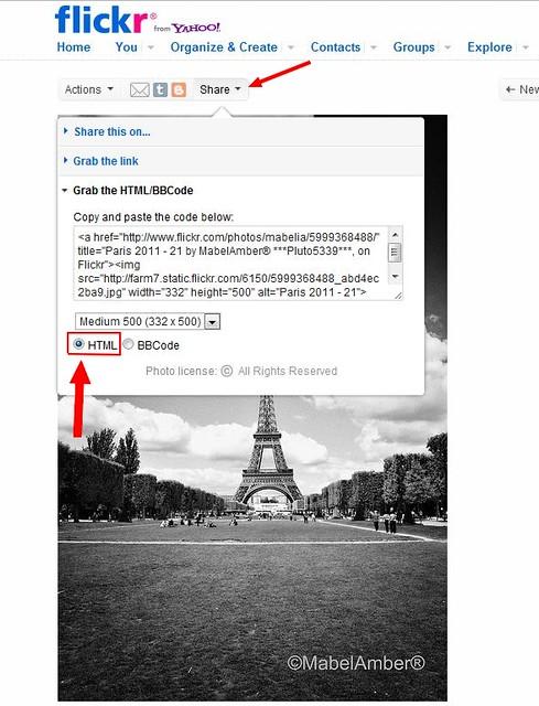 Screenshot for share menu