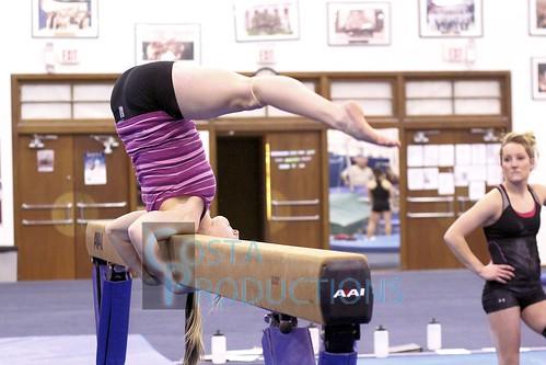 TWU Gymnastics Practice [Paisley]   by Erin Costa