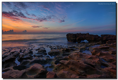 water clouds dawn rocks florida earlymorning incomingtide lowtide canonef1740mmf4lusm hdr jupiterisland 3exp coralcovepark dphdr palmbeachco
