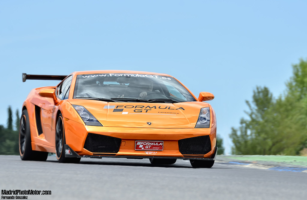 Lamborghini Gallardo Formula Gt Experience Madrid Photo Flickr