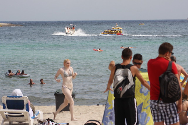 Magaluf: Ghostly Pale Girl