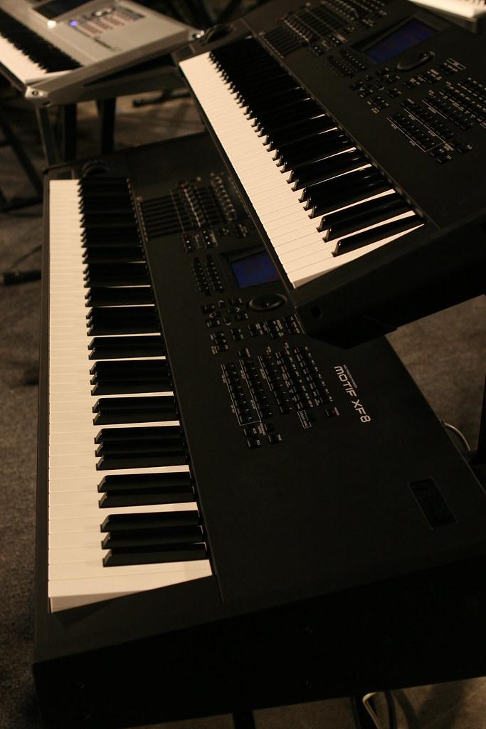 Yamaha Motif XF7, XF8 | Bergsten Music | Flickr
