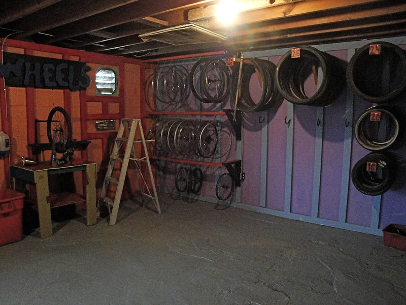 the wheel corner