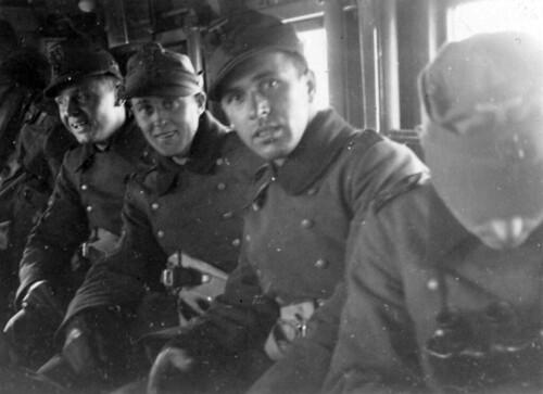 På toget fra Fredrikshavn til København 1940