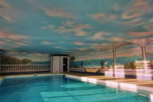 Trompe l'oeil, piscine | by DIMITRI PARANT