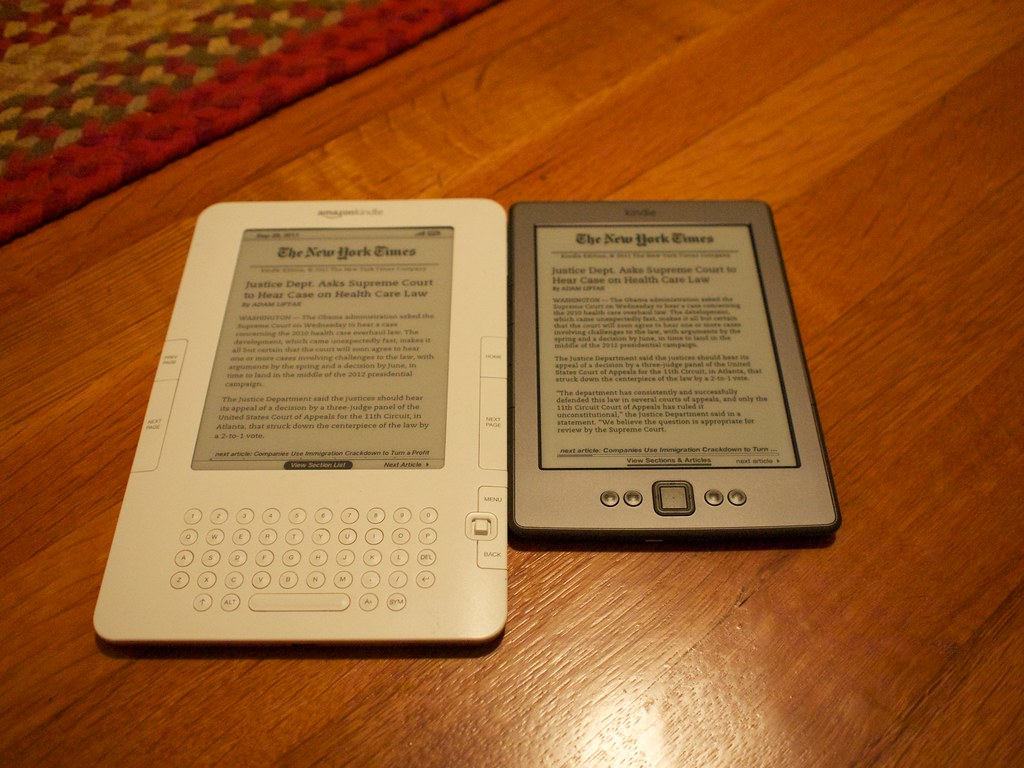 Kindle vs Kindle