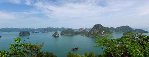 Ha Long Bay Panorama from Above