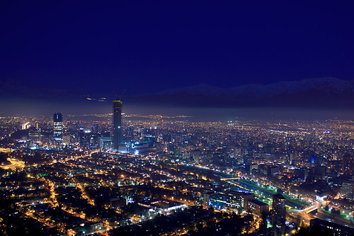 Santiago Chile skyscrapers / Canon kit lens | by Basilio Robledo