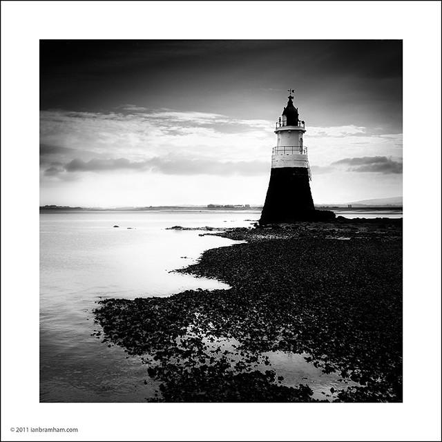 Plover Scar Lighthouse, Lancashire