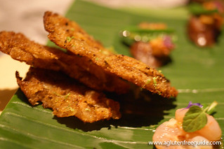 crispy prawn cake Next Restaurant Tour Of Thailand Menu (5) | by yumcat