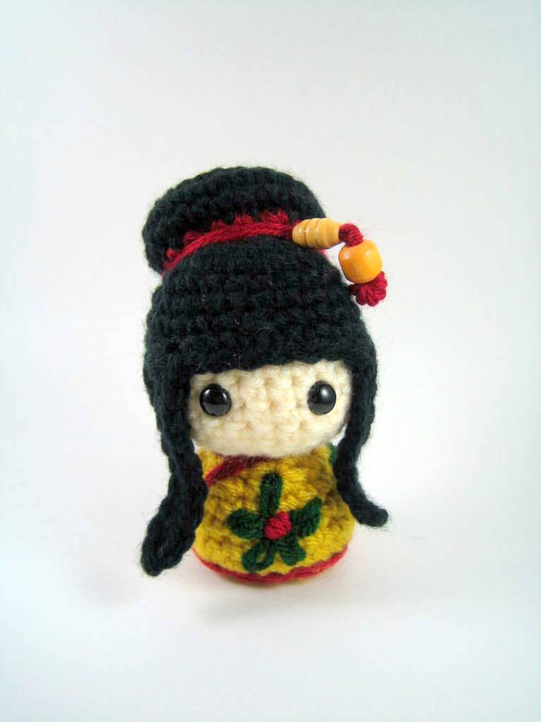 Kokeshi Kokeshi and More Kokeshi | Crochet dolls, Kawaii crochet ... | 1024x768
