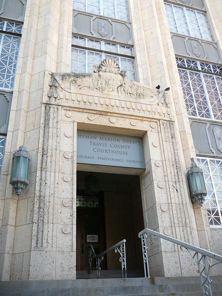The Travis County Courthouse | Where the ceremony took place