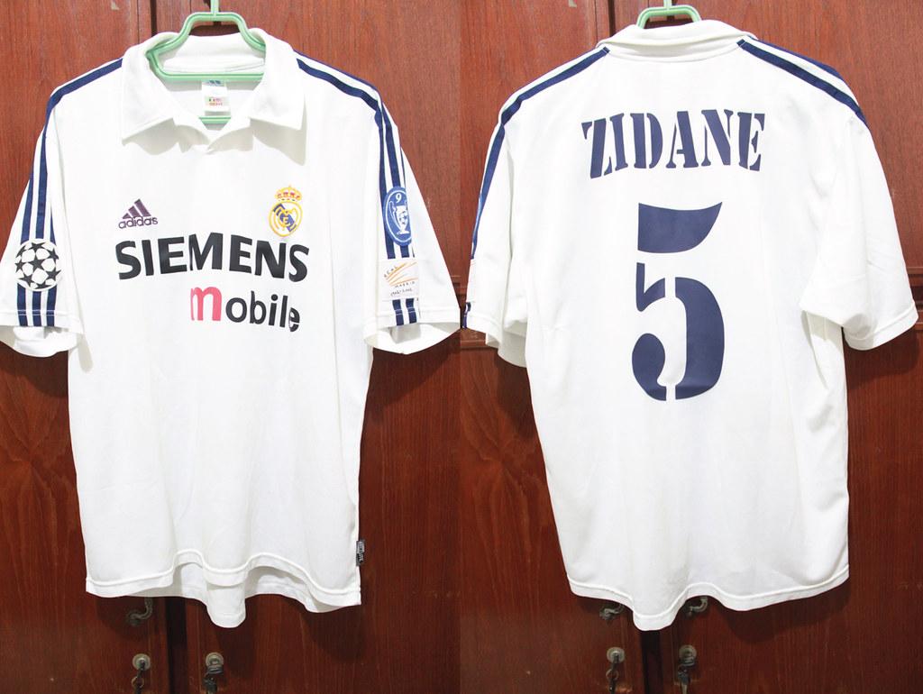 ab19cff14 ... Sebastian Andre 7 Real Madrid Home 02-03 Centenary UCL  5 ZIDANE