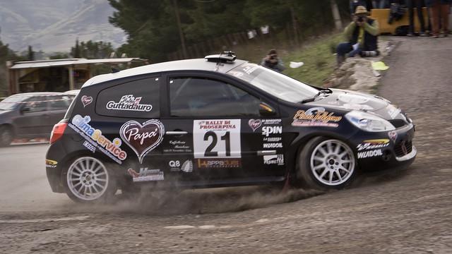 Davide Caruso e Paolo Guttadauro | Renault Clio R3 | 25° Rally Proserpina 2010