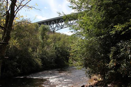 bridge stream pennsylvania mudrun carboncounty hickoryrunstatepark