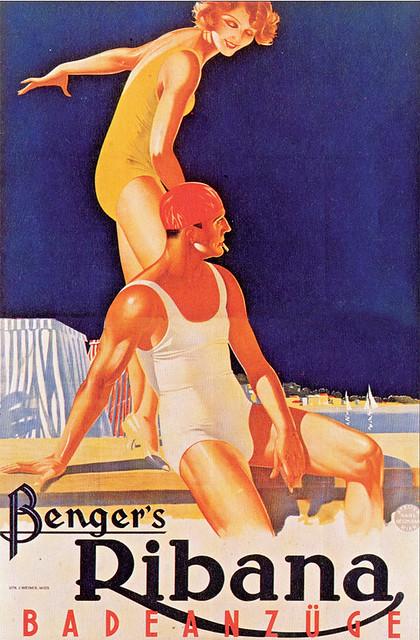 Benger Ribana swimwear (1932)