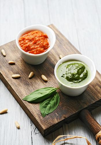 pesto verde y rosso | by Lovefood.es