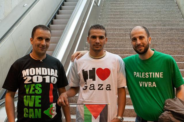 Flotille pour Gaza - Manifestations 2010