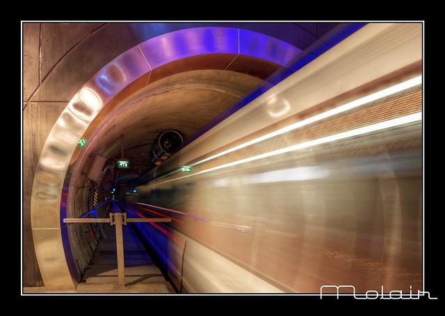 Metrostation Blijdorp Rotterdam