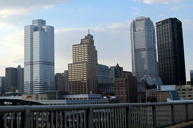 Pittsburgh - Central Business District: Skyline