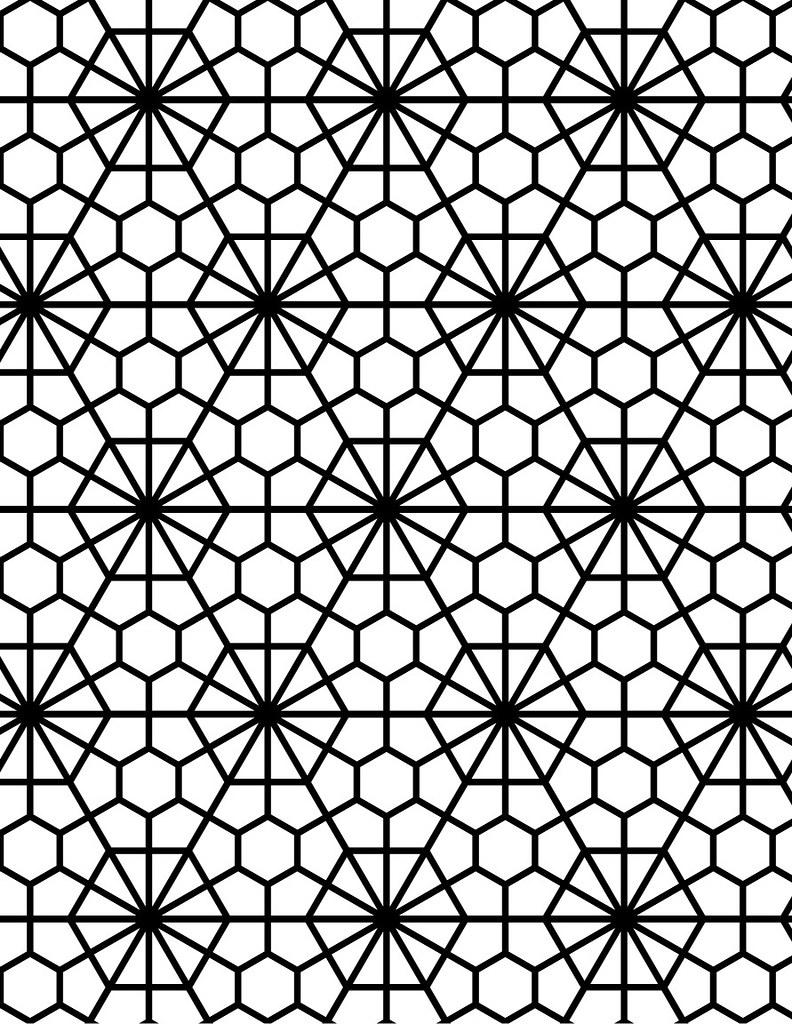 Jai Deco Geometric Pattern 115