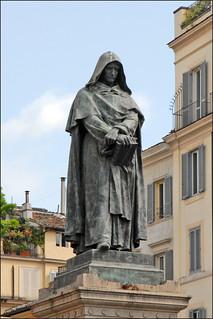 Statue de Giordano Bruno (Rome) | by dalbera