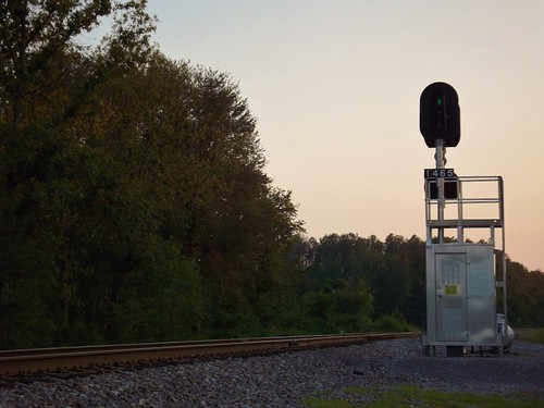 railroad sunset colors knoxville united norfolk rail southern states signal railfan