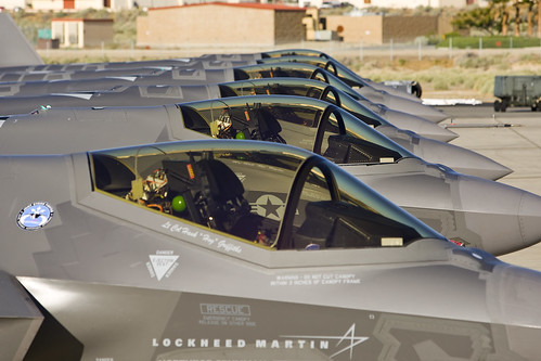 Edwards AFB F-35A Test Aircraft   by Lockheed Martin