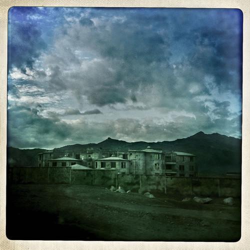 afghanistan landscape newbuilding constructionsite streetview kandahar afg balazsgardi basetrack basetrackorg