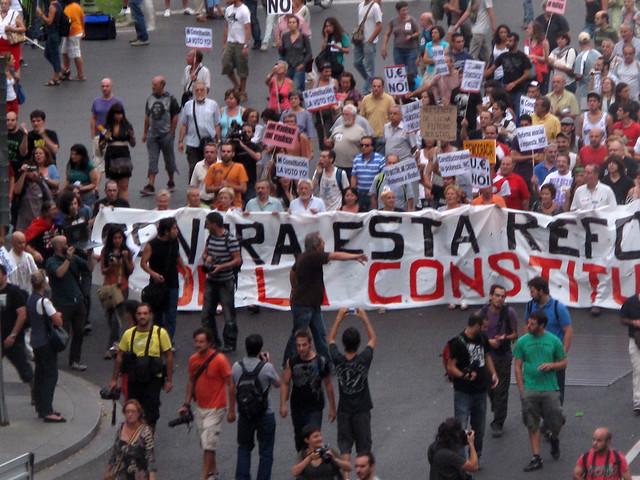 Madrid August 2011 Demonstrations #1