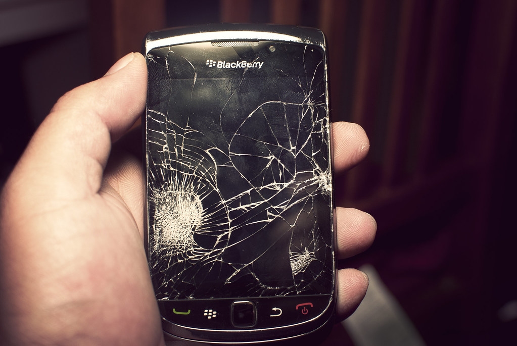 Image result for broken blackberry