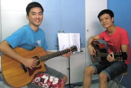 Guitar lessons Singapore George