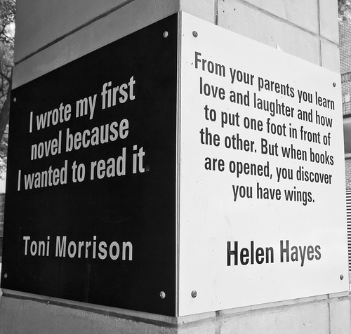 When books are opened, you discover you have wings