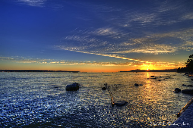 Sunset on English Bay, Vancouver BC