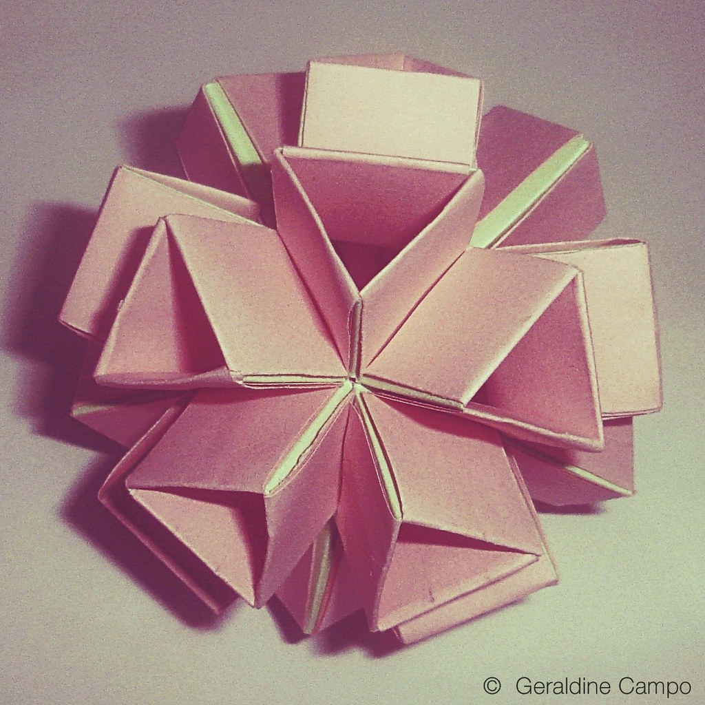 Post-It Origami Icosahedron | Origami art, Origami crafts, Origami ... | 1024x1024