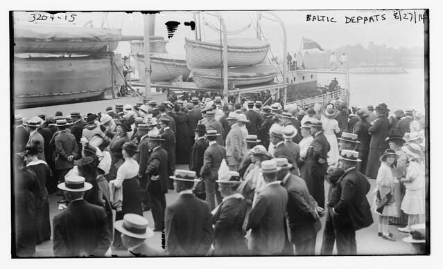 BALTIC departs, 8/27/14  (LOC)