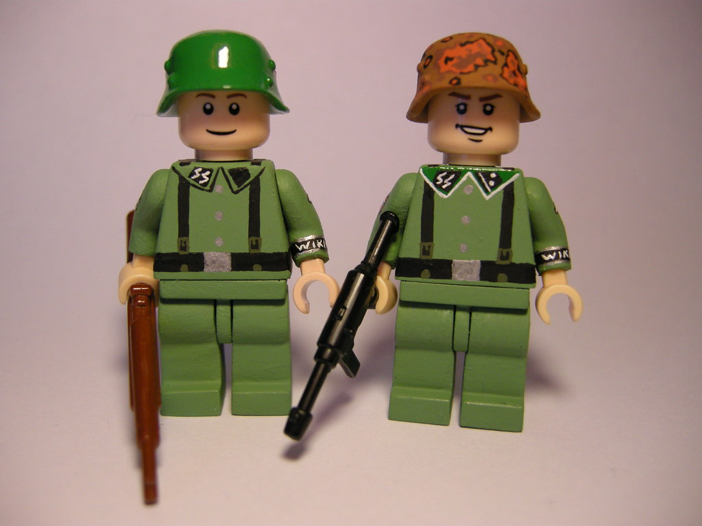 Waffen SS infantry LEGO | 5th SS Panzer Division Wiking  My