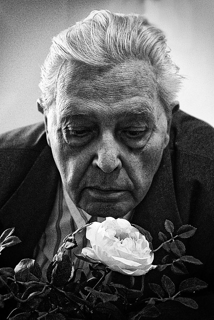 Günter with the Rose