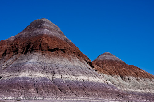 Painted Desert View in Petrified Forest NP JN036947 | by JaniceNolan_braud