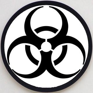 Modern BioHazard triskelion