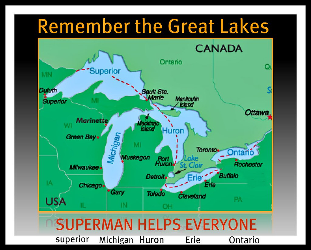 name the great lakes - HD1024×823