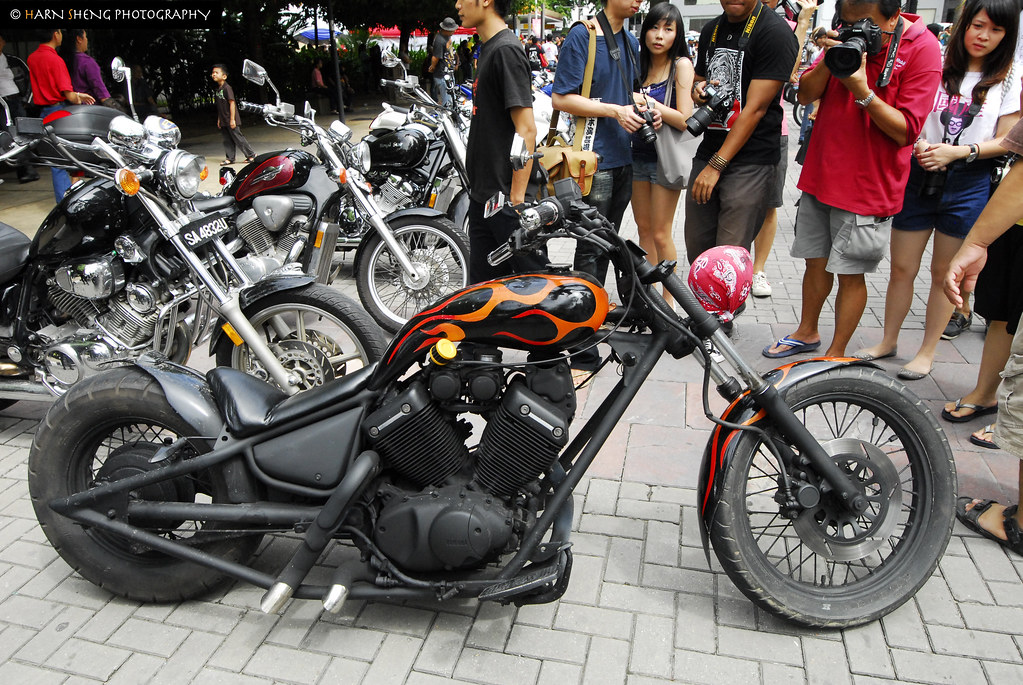 Custom Chopper, Yamaha Virago 535 engine | Khor Harn Sheng | Flickr