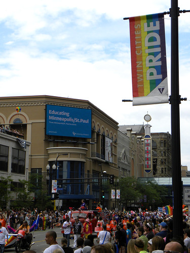 The crowd at the Twin Cities Pride Parade 2011 | by Fibonacci Blue