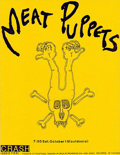 Meat Puppets flyer   by dbostrom