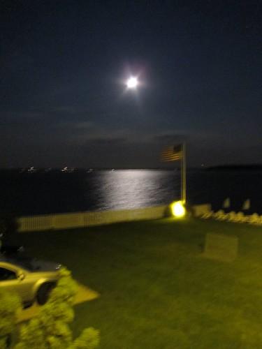 moon blurry flag 2011 july2011