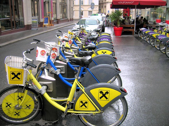 Bike share Vienna by bryandkeith on flickr
