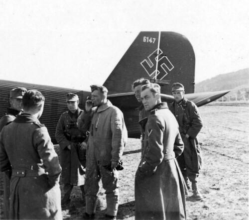 Værnes 02. mai 1940
