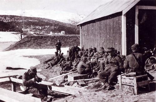 Østerriske bergjegere fra 2.bataljon av 137 bergjererregiment