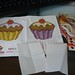 gantungan hp cupcakes
